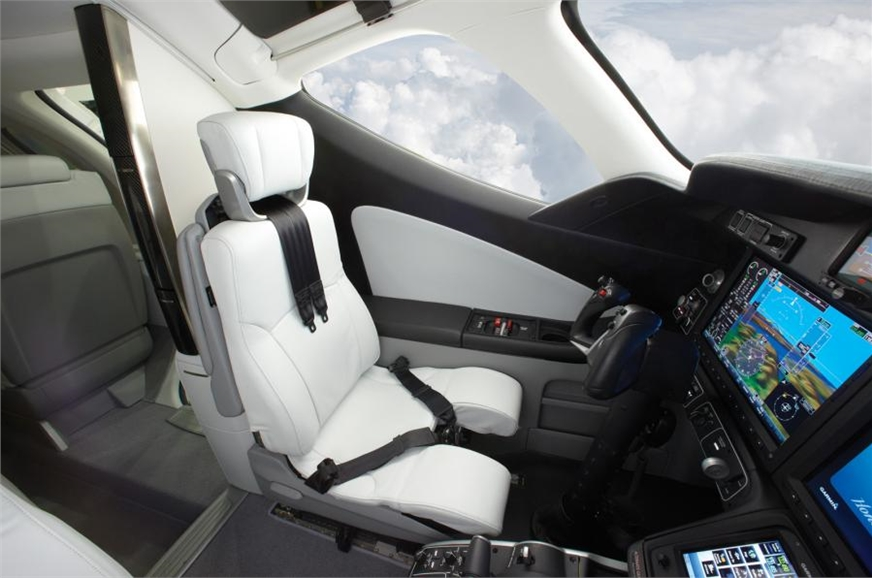 Honda envisions that most HondaJet owners will have pilot...