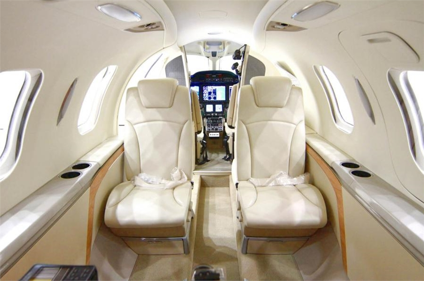 The HondaJet comes with up to 20 per cent more space insi...