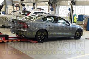 Next-gen Volvo S60 image leaked