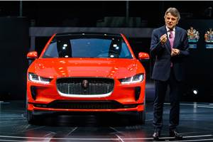 JLR CEO says transition to EVs will be costly
