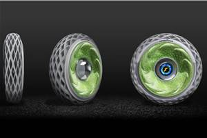 Goodyear showcases oxygen-producing tyre at Geneva