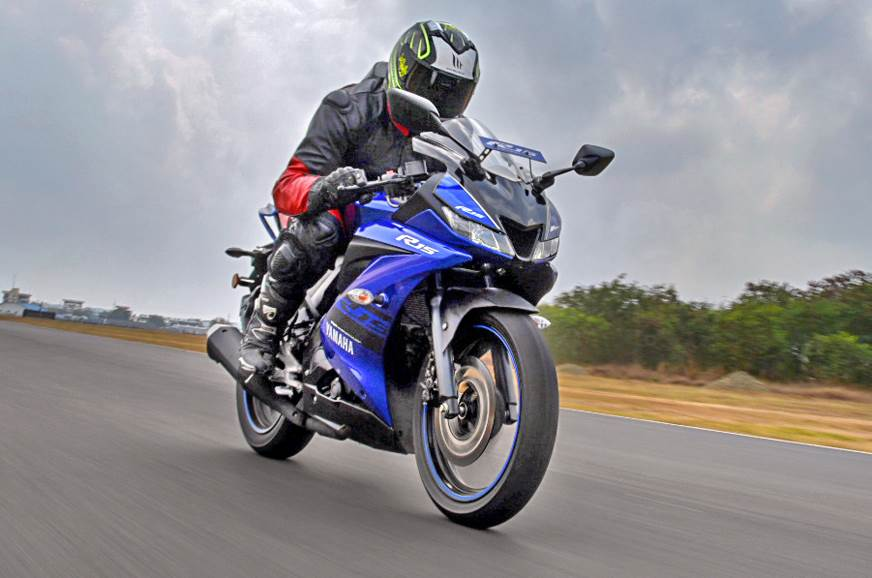 2018 Yamaha YZF-R15 V3.0 review, test ride