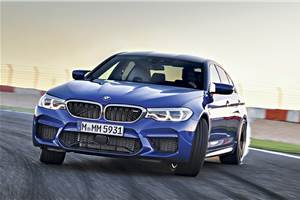 2018 BMW M5 review, test drive