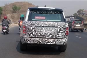 2018 Range Rover facelift spied near Pune