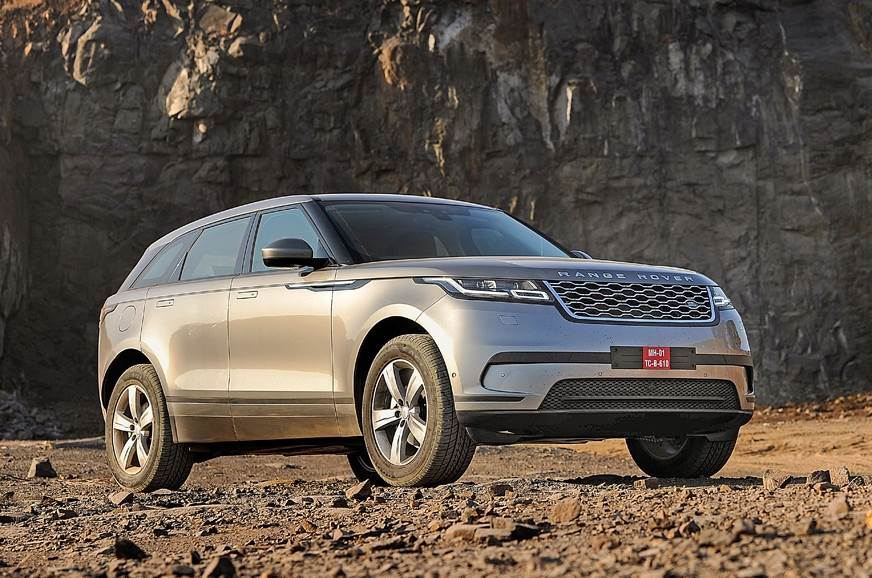 The standard Range Rover Velar on sale in India.