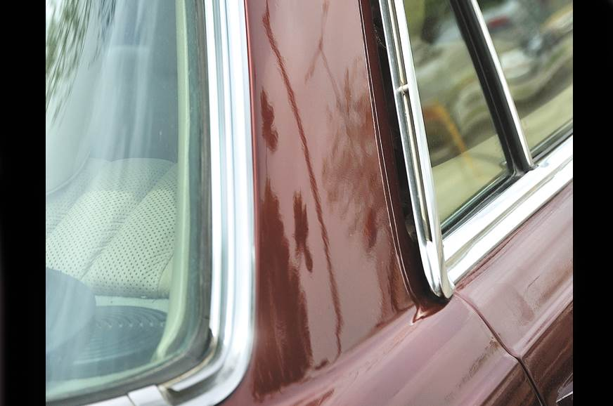 Chrome perfect even four decades on.