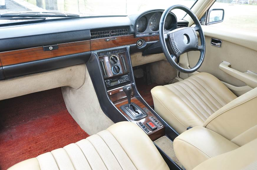 Merc's interior look, steering and dials began here. Toug...