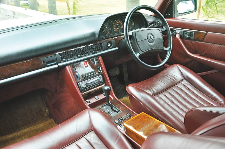 Classic-looking interior now much roomier as well on the ...