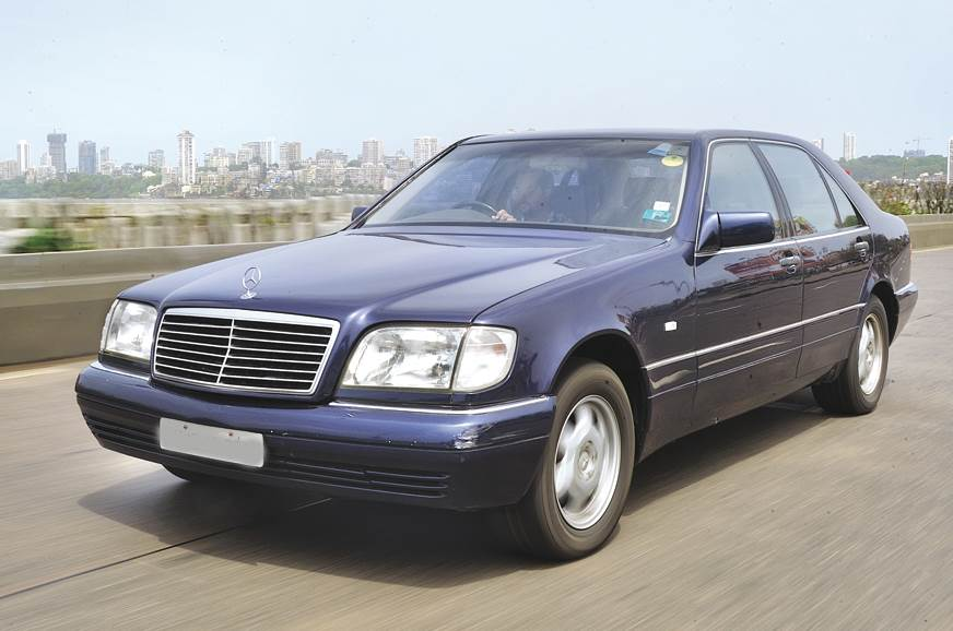 W140, also known as the tank, looked it from every angle.