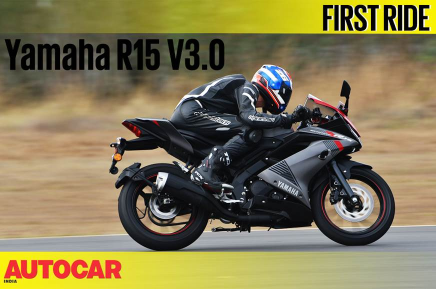 2018 Yamaha YZF-R15 video review