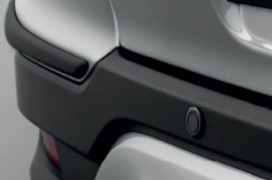 Parking sensors on the WR-V Edge Edition.
