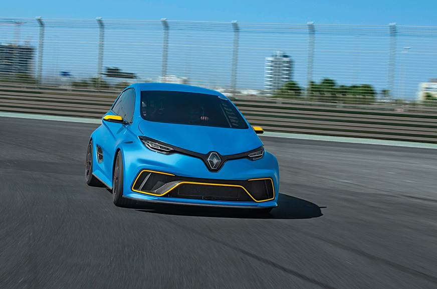 2018 Renault Zoe e-Sport review, test drive