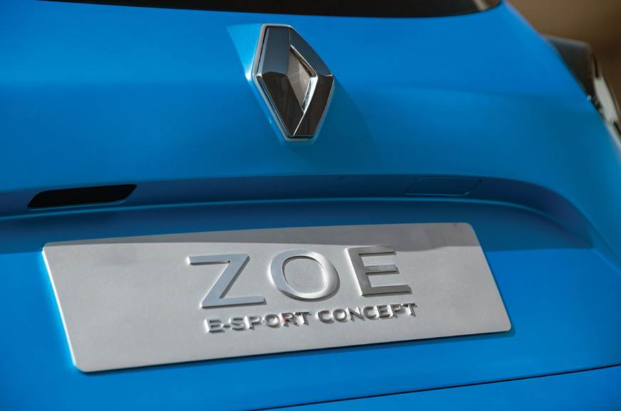Zoe e-Sport concept – not for production.