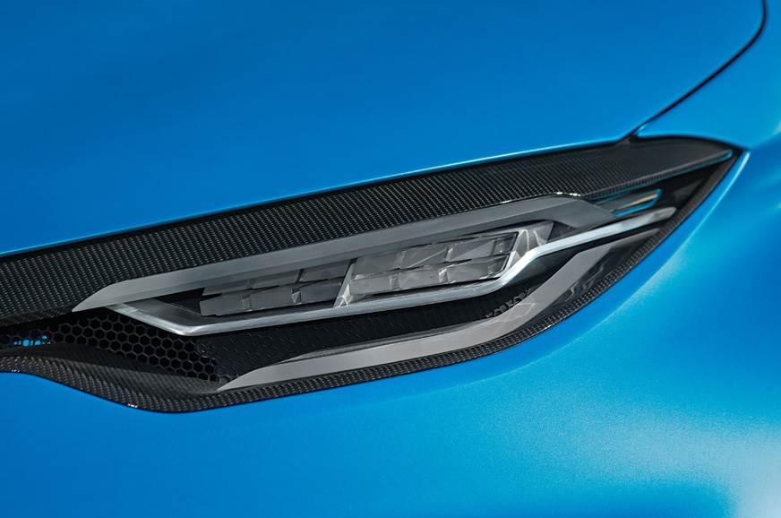 Concept car design elements make e-Sport stand out.