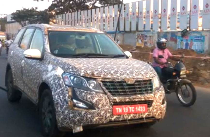 Mahindra XUV500 facelift launch soon