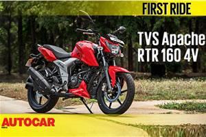 2018 TVS Apache RTR 160 4V video review