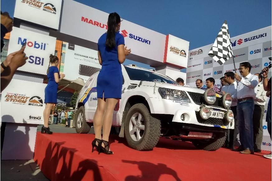 2018 Maruti Suzuki Desert Storm flagged off
