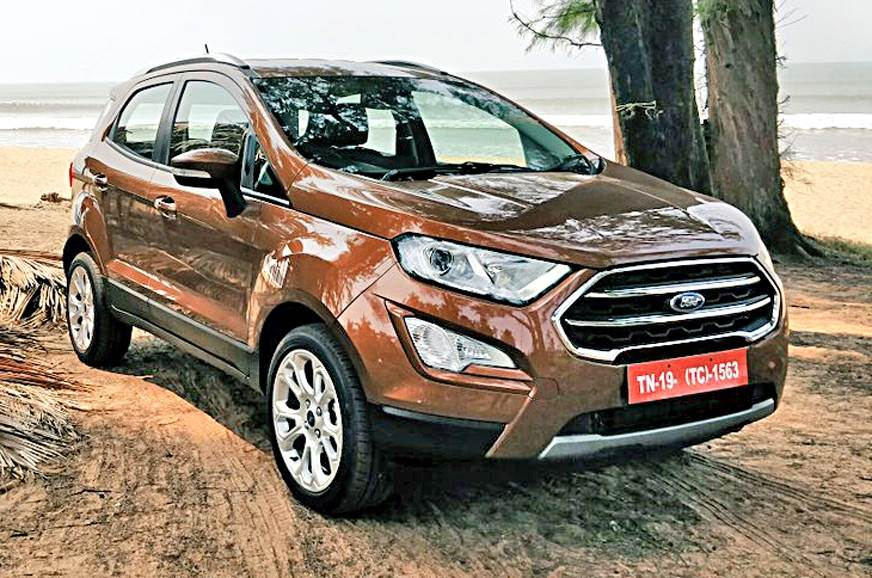Ford EcoSport Titanium+ petrol launched at Rs 10.47 lakh