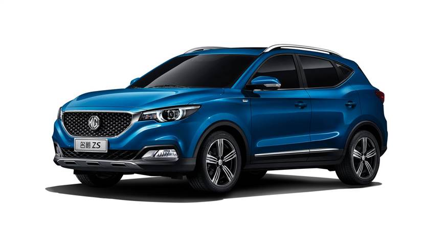 MG ZS SUV shown for representational purpose.