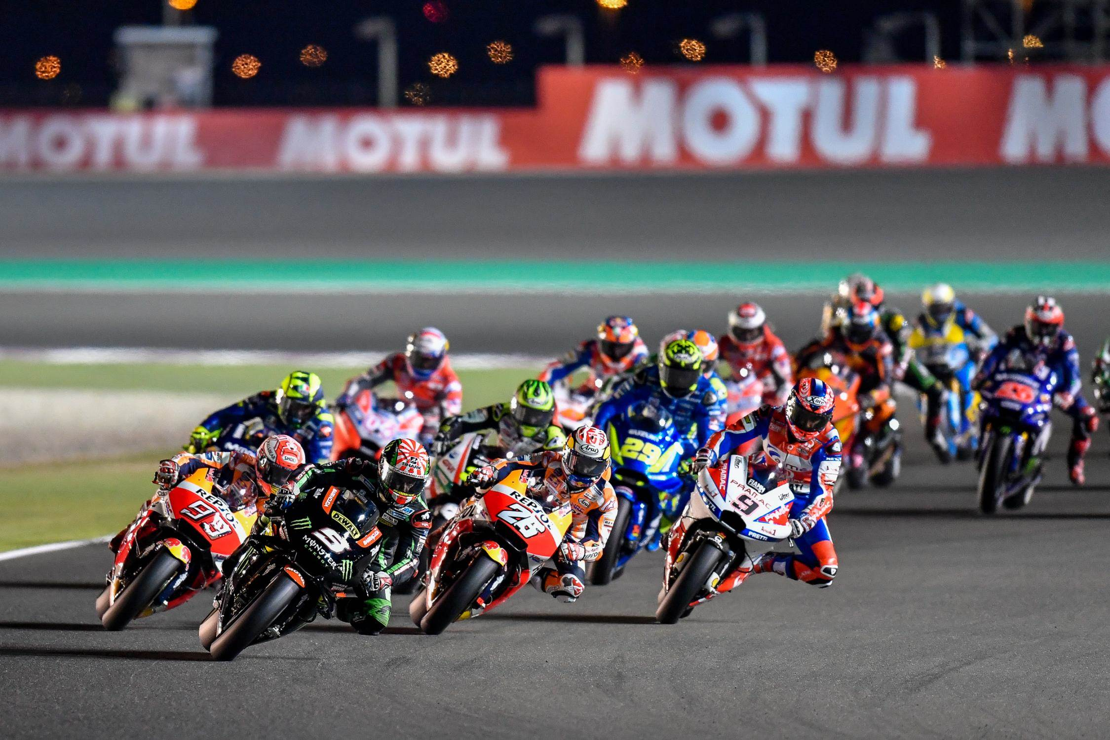 2018 Qatar MotoGP race report