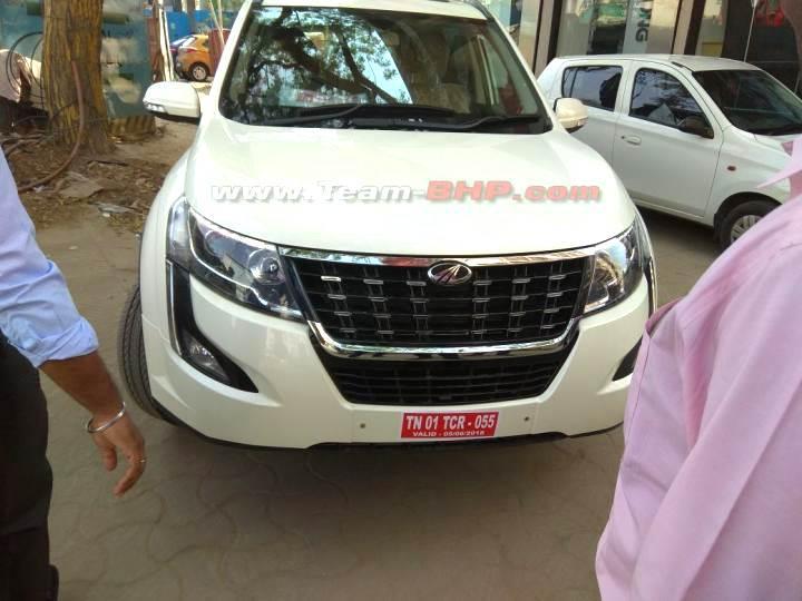 Mahindra XUV500 facelift leaked ahead of launch