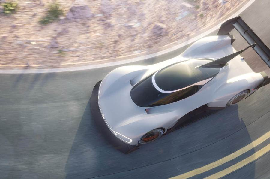 Volkswagen ID R electric prototype revealed