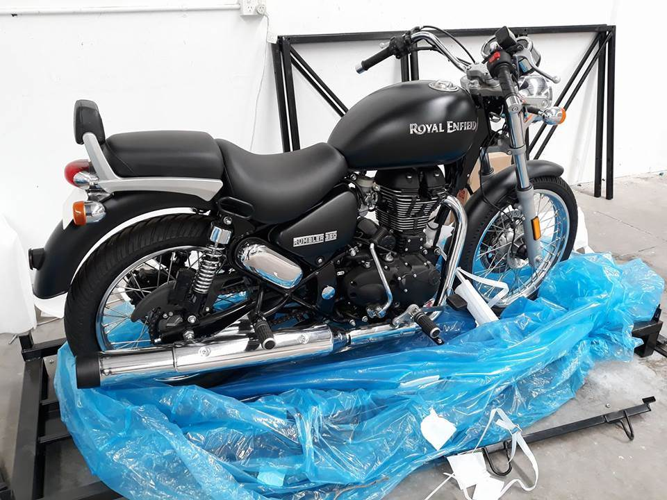 Royal Enfield Rumbler 350 launched in Australia