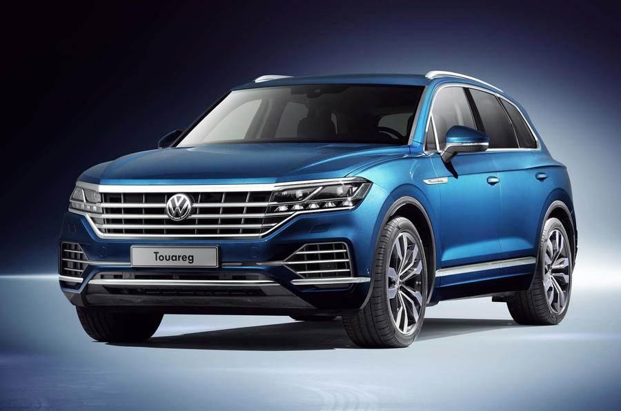 New Volkswagen Touareg revealed