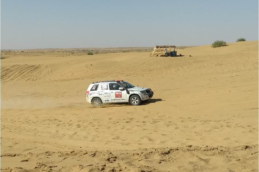 Aabhishek Mishra wins the 2018 Desert Storm