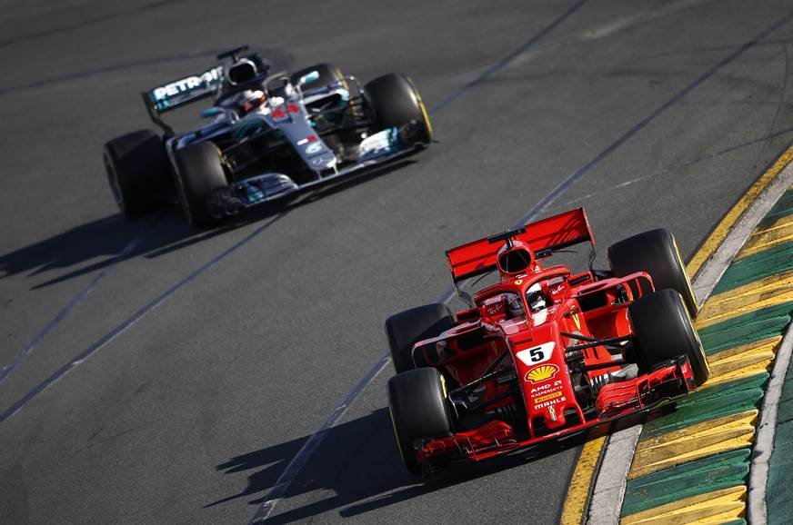 Vettel takes surprise Australian GP win