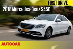 2018 Mercedes-Benz S 450 video review