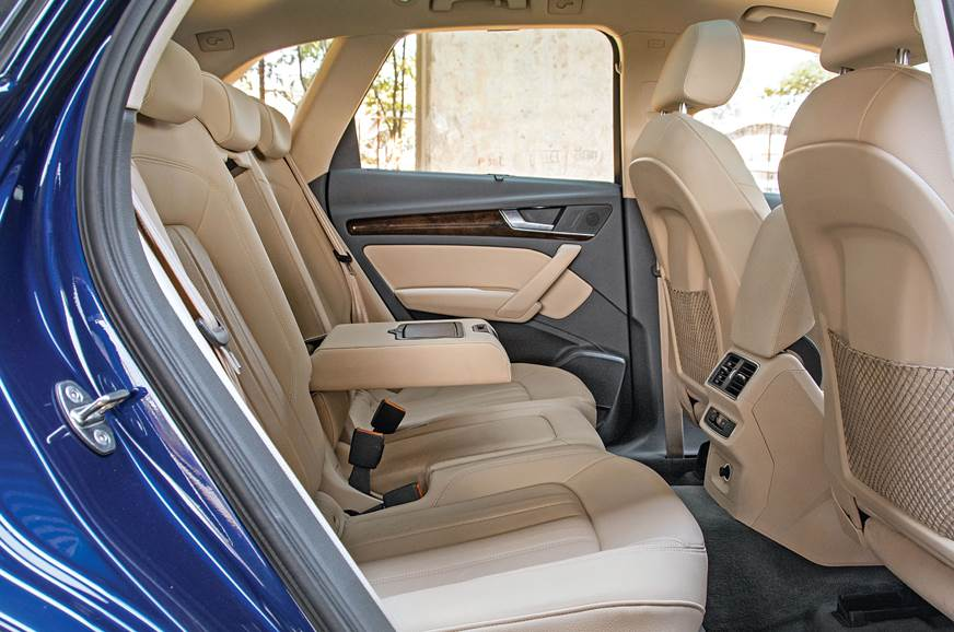 Q5's Back seat is most spacious and comfy.