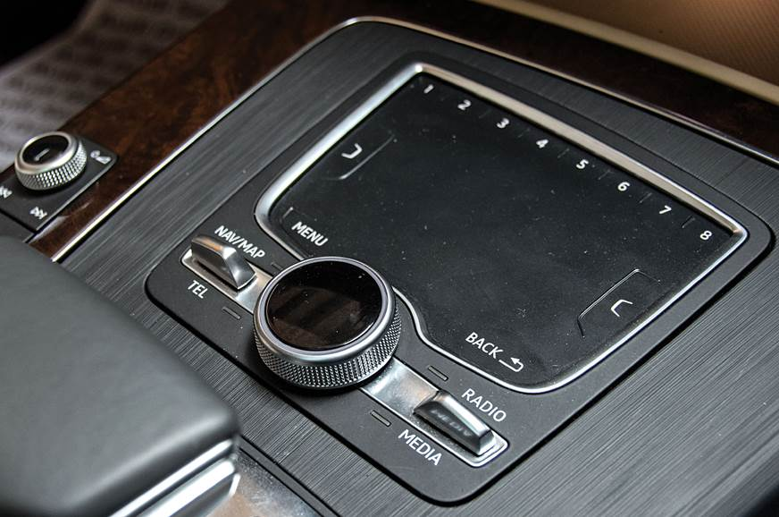 Handwriting pad for infotainment on the Q5.