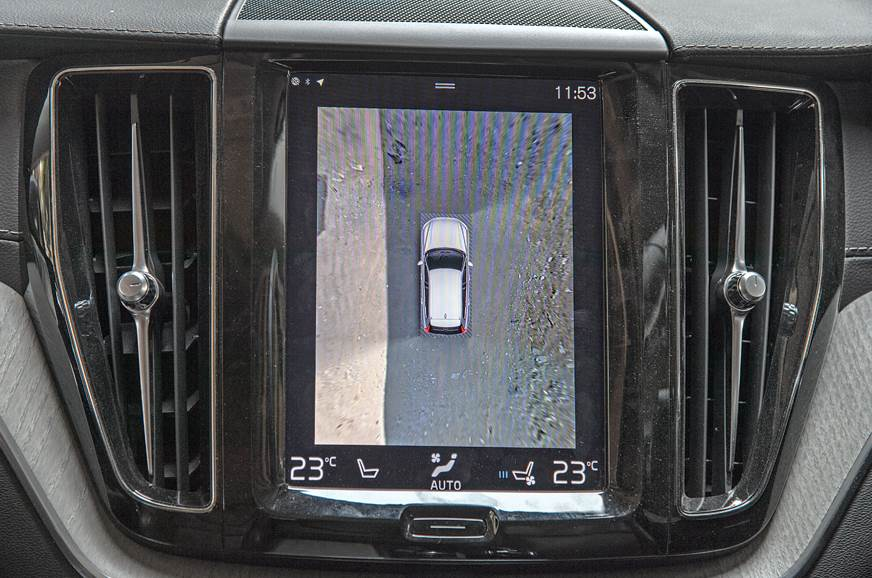 360-degree camera on the Volvo.
