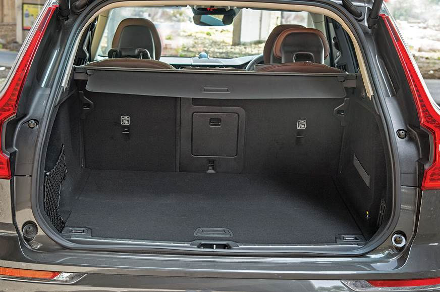 At 505 litres, the Volvo has the best-shaped boot. SUV ca...