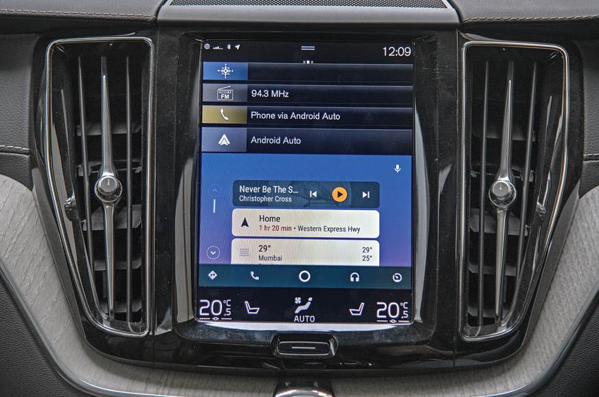 Vertical 9.0-inch touchscreen on the Volvo is best here. ...