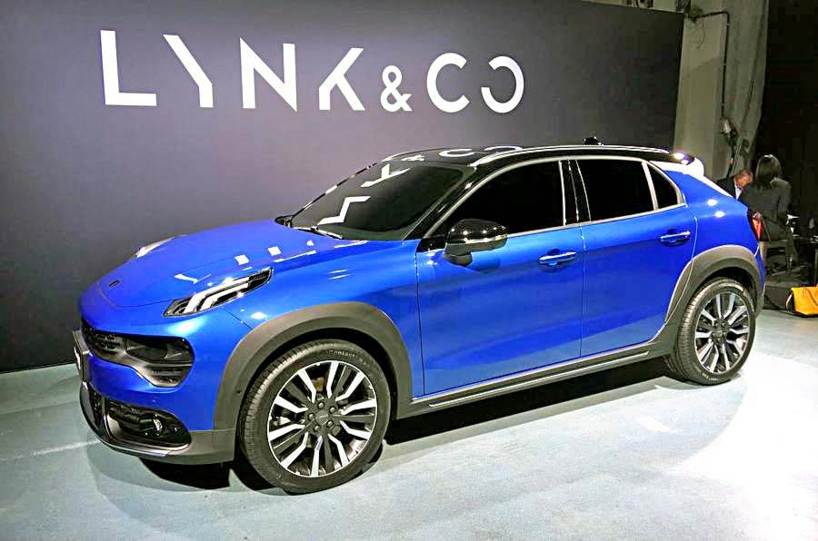 Lynk & Co 02 crossover revealed
