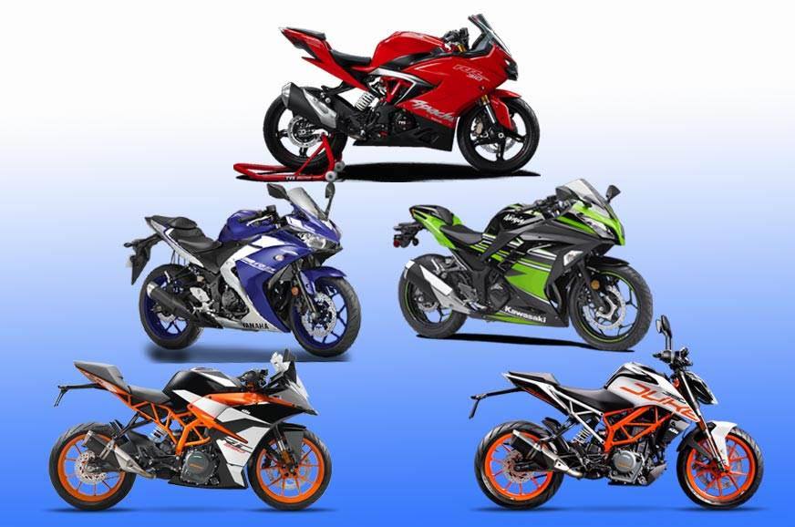 Top 5 bikes under Rs 4 lakh in India