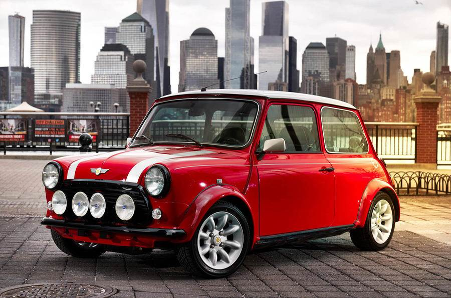 Electric version of original Mini revealed in New York