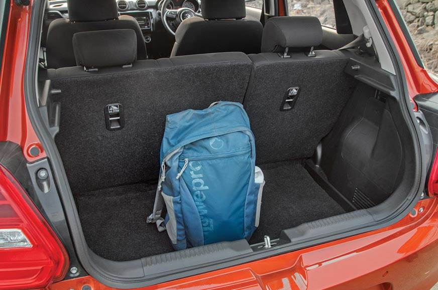 268-litre boot can hold plenty and seats split/fold too. ...