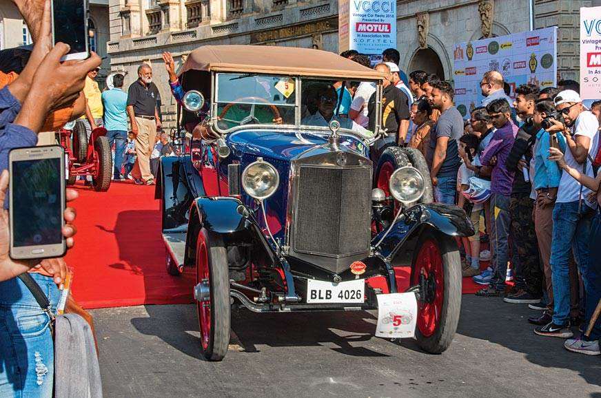 The single-family-owned 1921 Steyr Type II won the vintag...