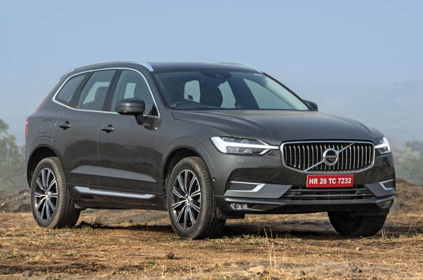 The XC60 currently on sale in India.