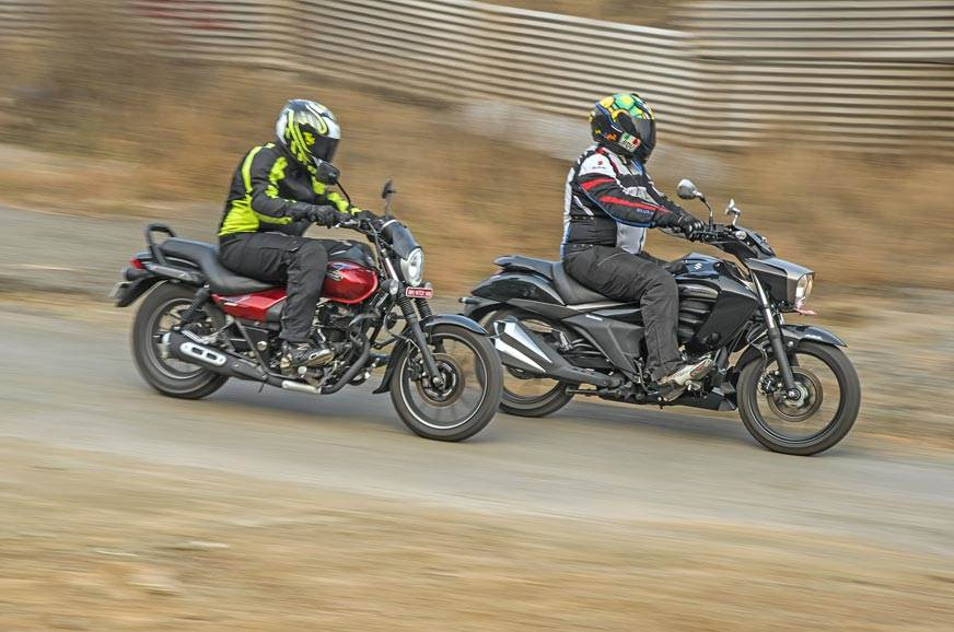 2018 Bajaj Avenger Street 180 vs Suzuki Intruder ABS comparison