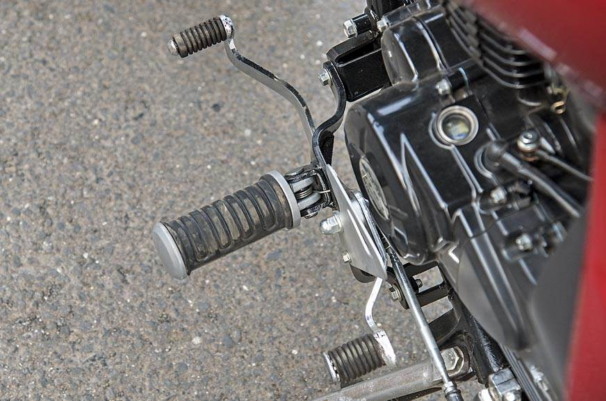 The Avenger's gearbox (at least on our test bike) liked s...