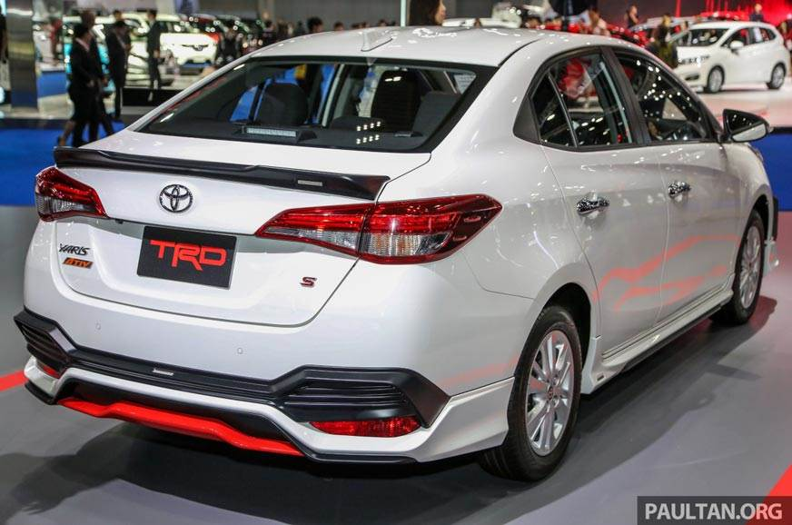 2018 Toyota Yaris Ativ Trd Sportier Version Of The Mid