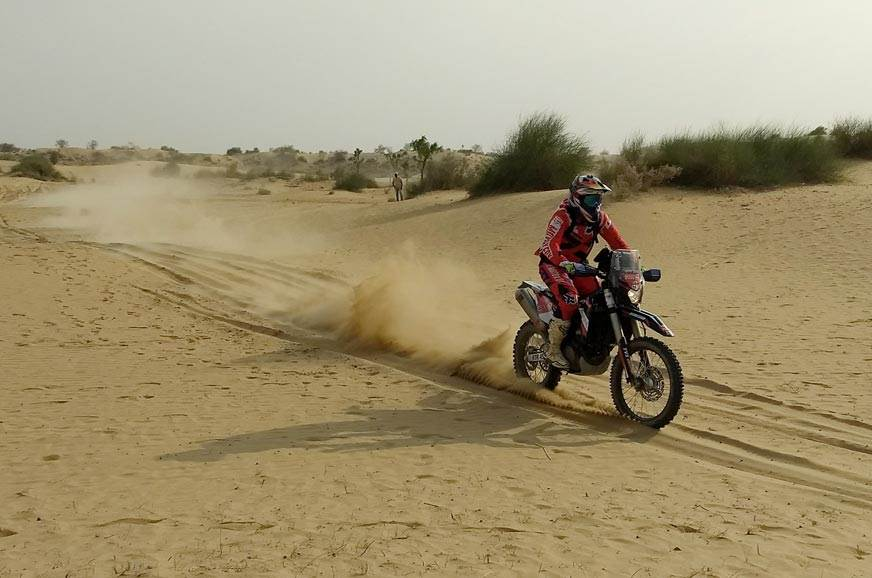 TVS Racing did well at the 16th Desert Storm with Santoli...
