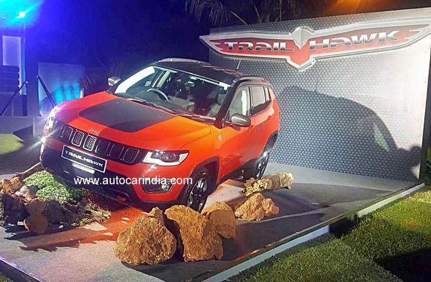 Jeep Compass Trailhawk showcased in India