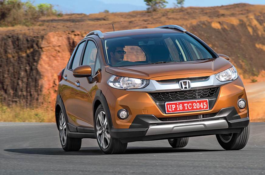 The Honda WR-V is an urban vehicle that is equally at hom...