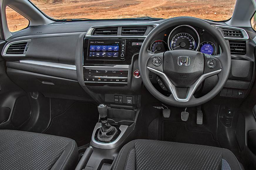 Design and quality form the hallmark of the WR-V's cabin.
