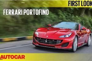 2018 Ferrari Portofino first look video